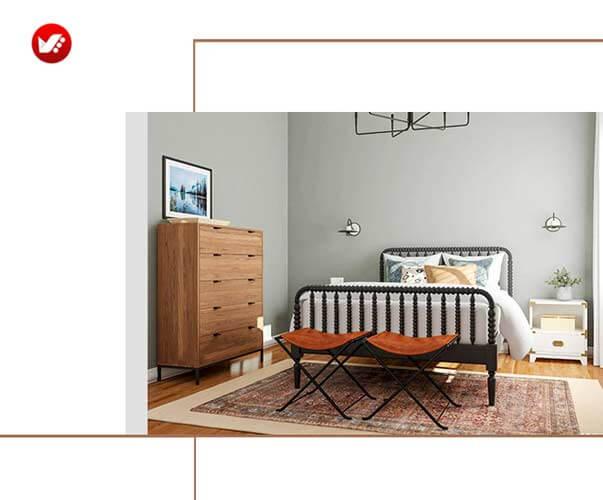 تزئین اتاقها با چرم